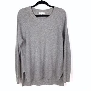 Madewell Waffle Knit Pullover Sweater Long Sleeve